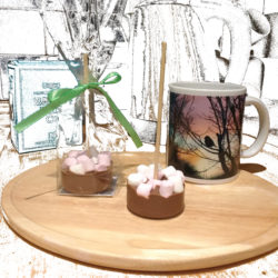 Fairtrade hot chocolate stirrers