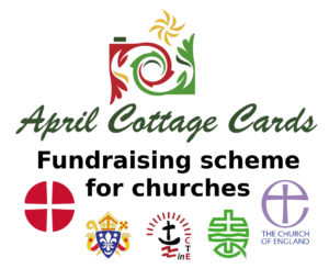 April Cottage Cards Fundraising Scheme for Churches logo