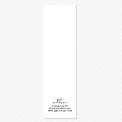 Bookmark cards reverse