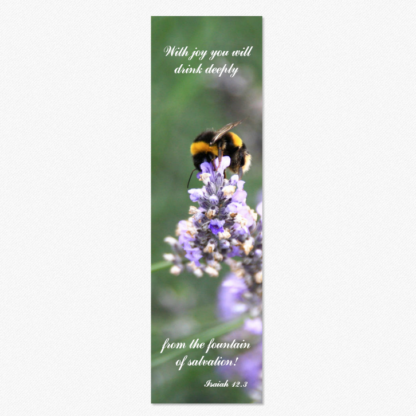 April Cottage Cards - Isaiah bookmark card